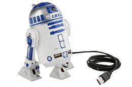 Multiplicador de puertos USB con forma R2D2 de Star Wars
