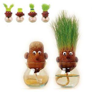 Cabezas de hierba