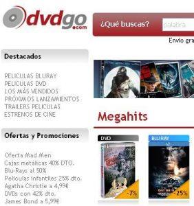 Rebajas en dvdgo.com