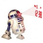 Despertador proyector Star Wars R2D2