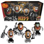 Figuras de Mr. Potato al más puro estilo KISS
