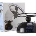 Despertador volador con hélice, un regalo original para los dormilones