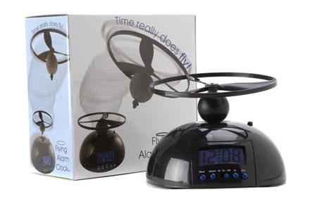 Reloj despertador con hélice
