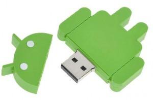 USB memoria Android
