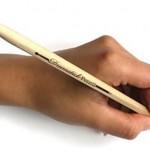 Lápices en forma de baqueta de batería