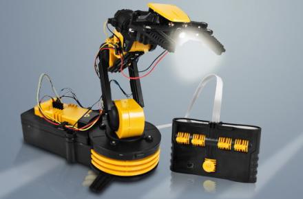 brazo robotico, un regalo geek para los amantes de los robots