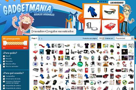 Buscador de regalos originales de Pixmania