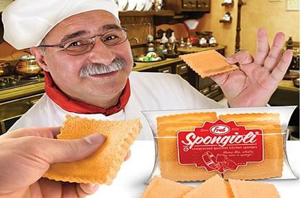 Deliciosas esponjas ravioli
