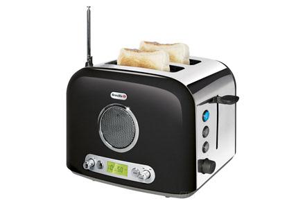 Regalos frikis Día del Padre: Radio tostadora