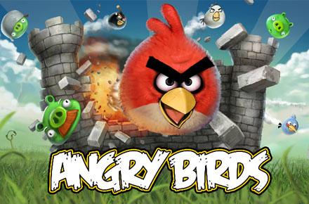 Especial Merchandising de Angry Birds