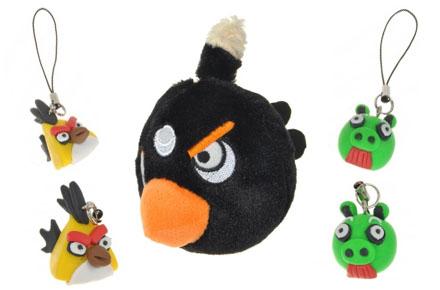Peluches y colgantes de Angry Birds
