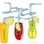 Cañitas modulables T-UP Diy Straws para beber como tú quieras