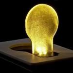 Tarjeta de luz LED, una lámpara friki de bolsillo