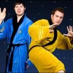 Albornoz Star Trek de Kirk y Spock