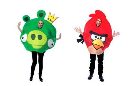 Disfraces de Angry Birds, para los más frikis del juego