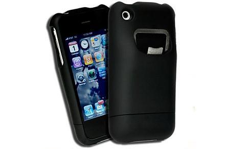 Funda de iPhone con abridor de cerveza