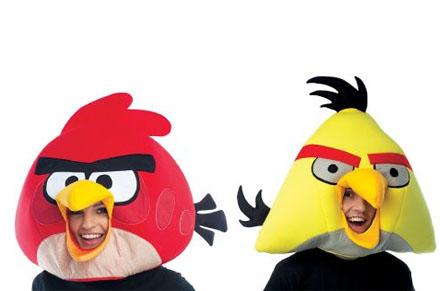 Máscaras de Angry Birds