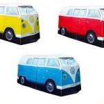 Tienda de campaña con forma de furgoneta Volkswagen