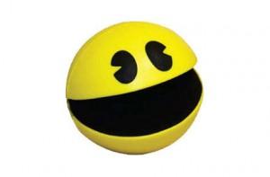 Bola anti-estrés Pac Man