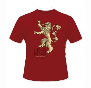 Camiseta Lannister Juego de Tronos