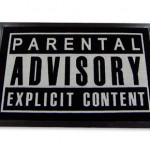 Felpudo Parental Advisory Explicit Content