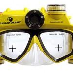 Gafas de buceo con cámara digital