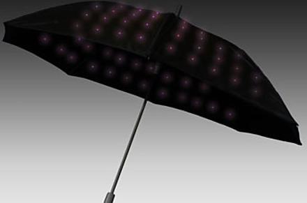 Paraguas Luminosos Titilante
