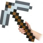 Pico pixelado del Minecraft