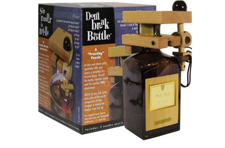 Puzzle de tornillo para botella