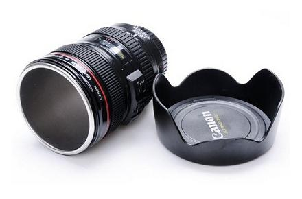 Taza/termo lente Canon
