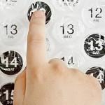 Calendario 2012 de Burbujas Explotables