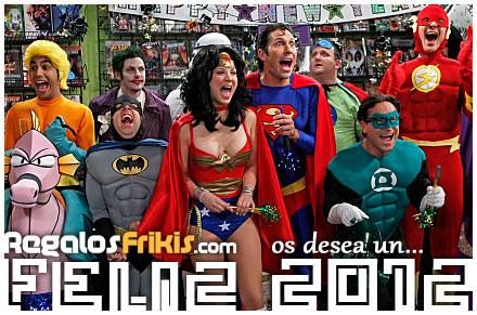 Feliz 2012 desde RegalosFrikis.com