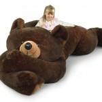 Oso de peluche gigante, la cama más friki para los niños