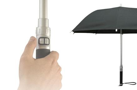 Paraguas electrónico