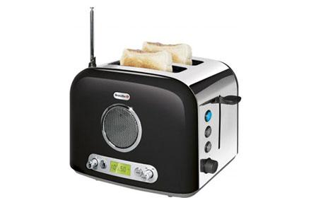 Radio-tostadora retro