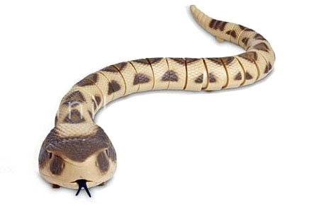 Serpiente cascabel de radio control
