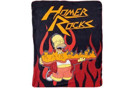 Manta polar de Homer Simpson