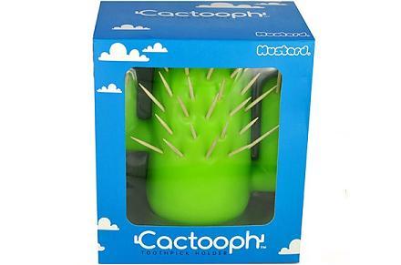 Palillero con forma de cactus Cactooph
