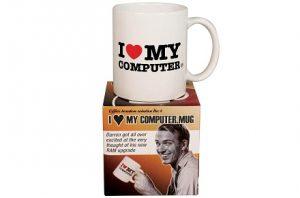 "Taza ""I Love My Computer"""