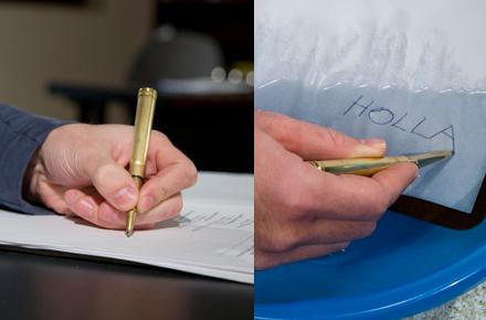 Bolígrafo bala