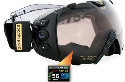 Gafas de Ventisca con GPS