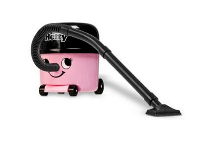 Hetty, la mini aspiradora