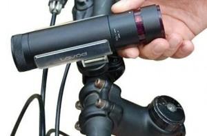Mp3 con linterna para bicicletas