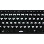 Teclado Space Invaders Flexible