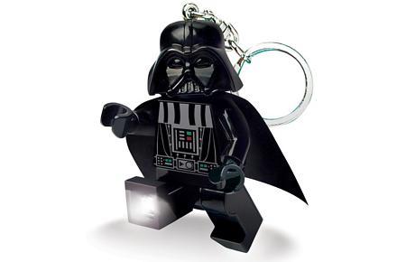 Llavero-linterna Darth Vader LEGO