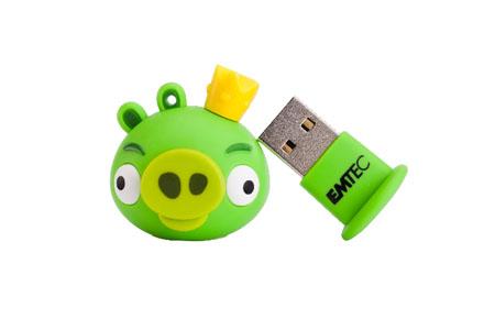 Pendrive rey cerdo de Angry Birds