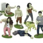 Figuras de Zombies Fluorescentes