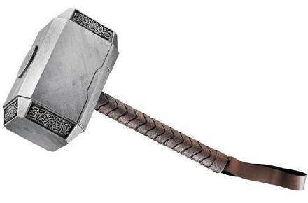 Réplica del martillo de Thor, Mjolnir