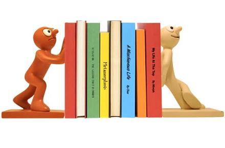 Sujeta libros Morph y Chas