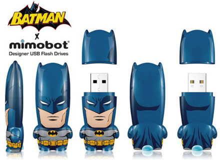Pendrive USB con forma de Batman de Mimobot